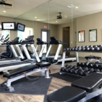 Fully Equipped workout room